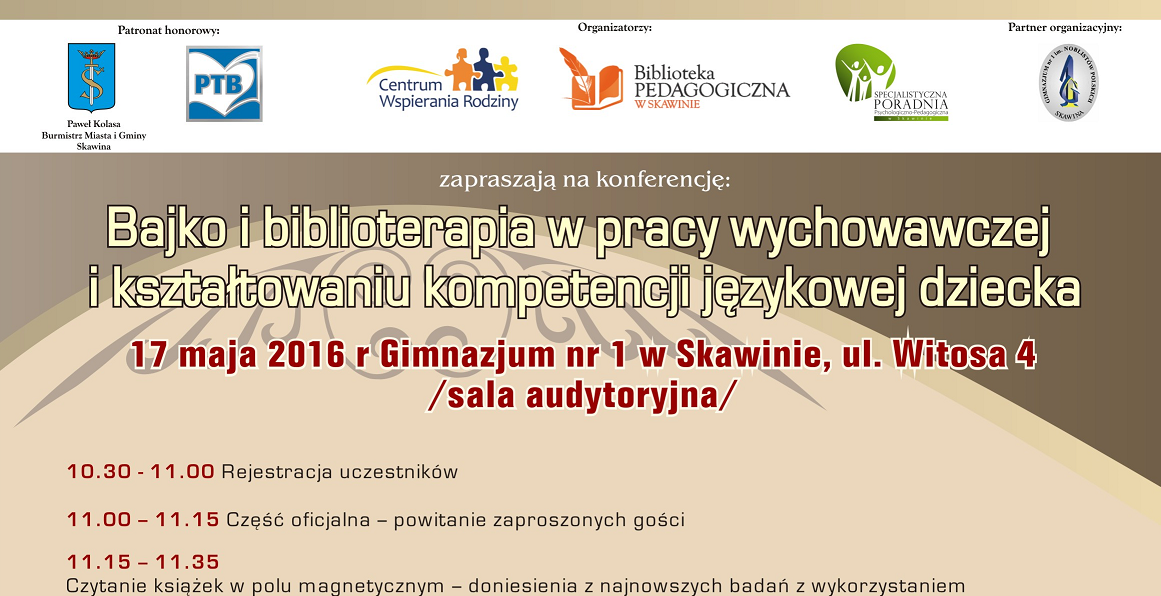 Konferencja na temat bajko- i biblioterapii