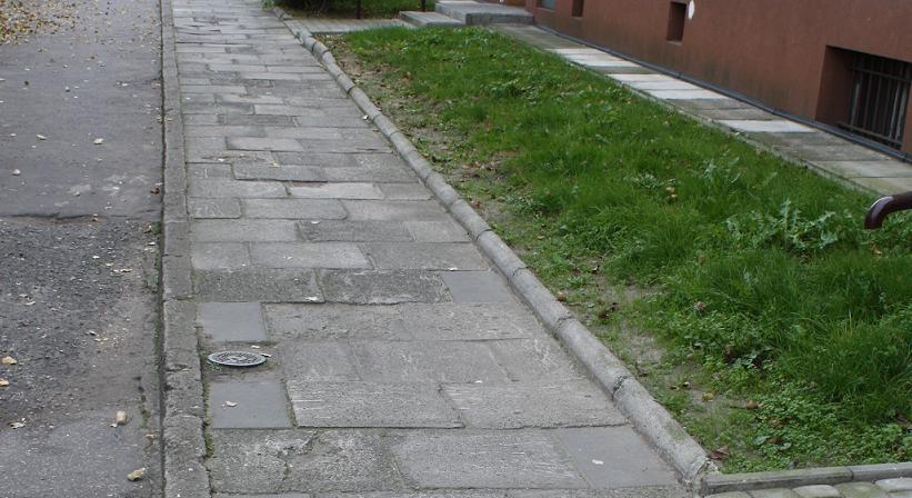Problemy z chodnikiem