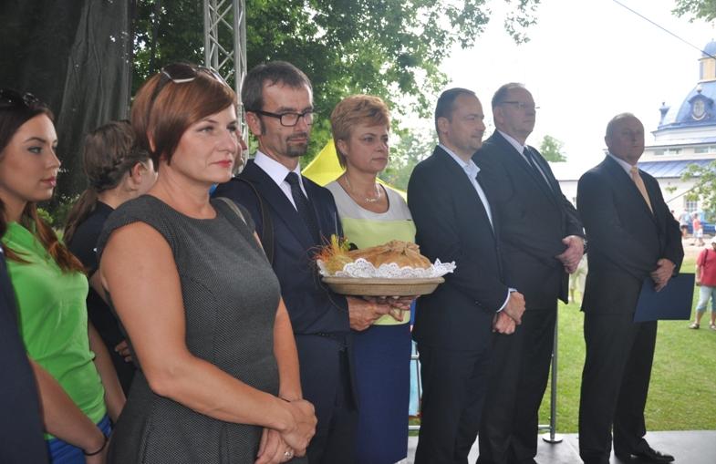 Słowackie dożynki z udziałem Skawiny