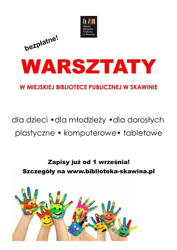 Warsztaty plakat.1