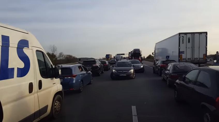 Skandaliczna zabawa kierowców