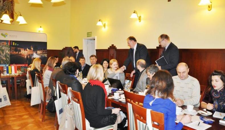 Ukraińscy goście w Skawinie