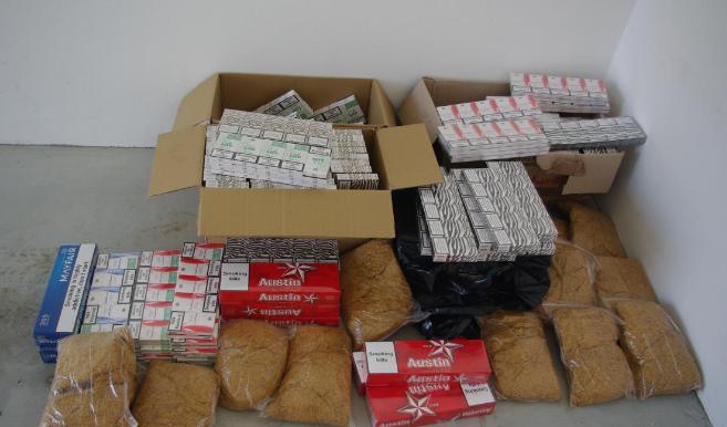 Handlarz nielegalnych papierosów zatrzymany