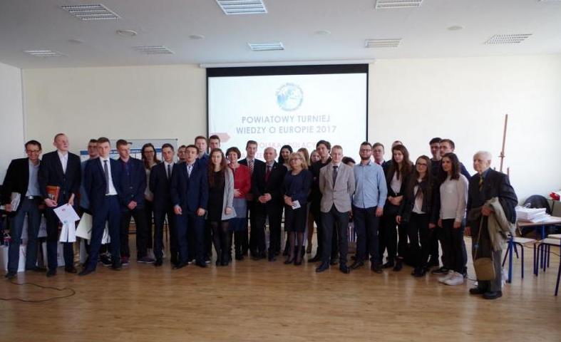 XVII Powiatowy Turniej Wiedzy o Europie