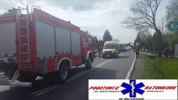Zelczyna: Wypadek na DK44