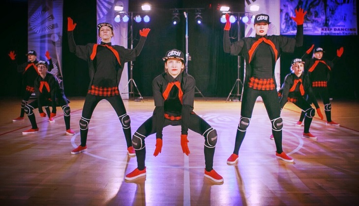 Sukces tancerek szkoły STEP