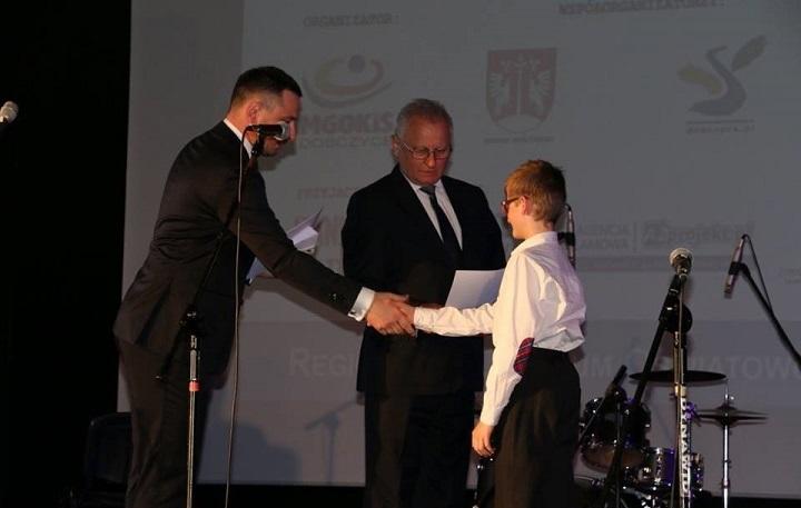 Kacper Szczurek Talentem Małopolski
