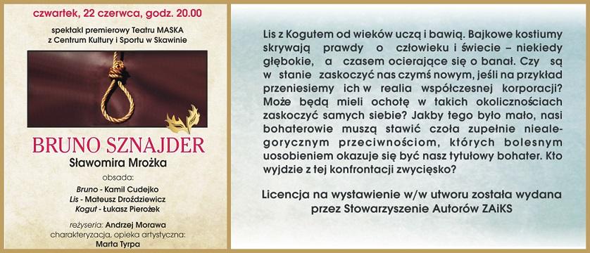 XIV Skawiński Tydzień Teatralny