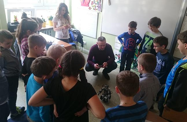 Warsztaty z robotyki w Zelczynie