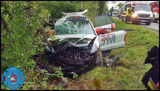 Groźny wypadek. Pięć osób poszkodowanych