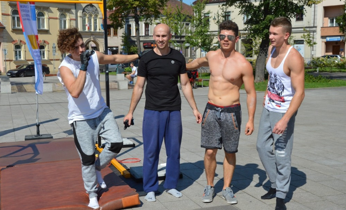 Walka o rekord w Skawinie