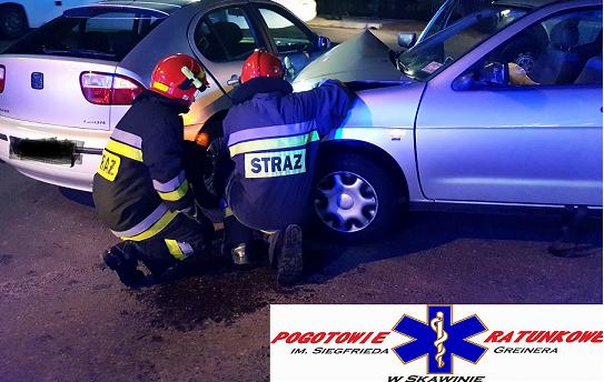 Krakowska: zderzenie na skrzyżowaniu