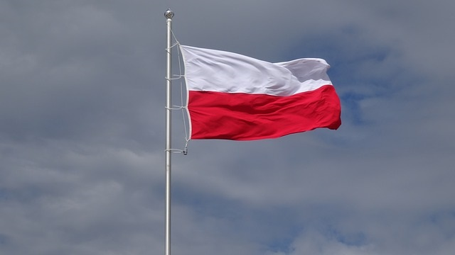 Barwy w górę. Żywa flaga w Skawinie