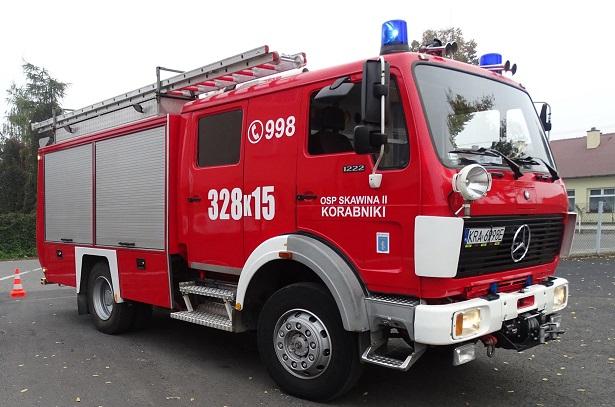 OSP Skawina II trzecia w województwie