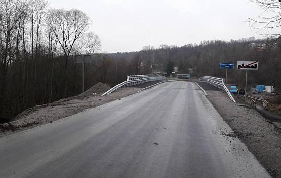 Most obok sanatorium w Radziszowie otwarty