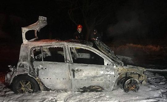 Ochodza: pożar samochodu