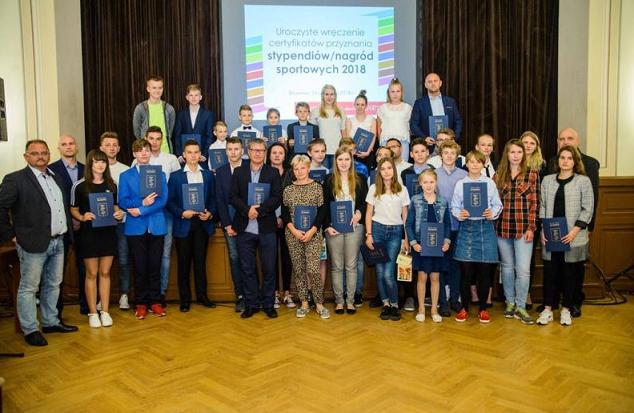 Sportowcy z gminy Skawina nagrodzeni