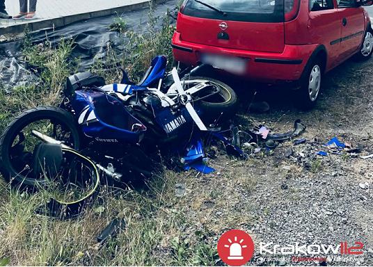 Wypadek na DK nr 44 w Zelczynie
