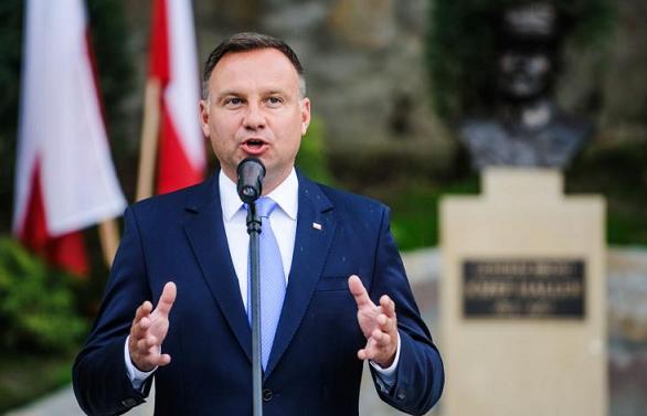 Andrzej Duda odsłonił popiersie gen. Hallera
