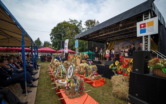 Jaśkowice: urokliwe dożynki w Jaśkowicach