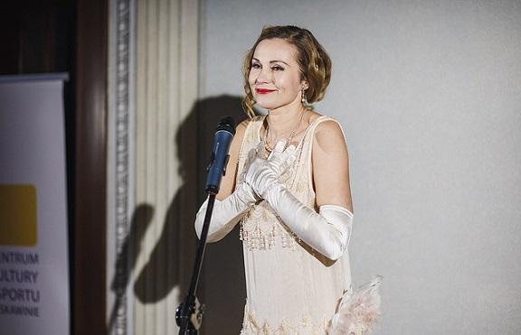 Aktorka oczarowała publiczność