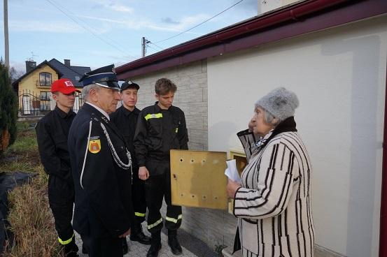 Młodzi strażacy na posterunku!