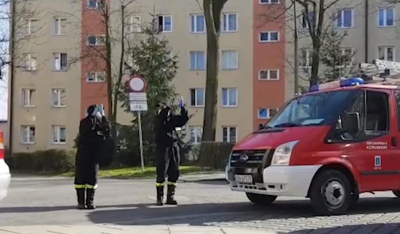 Akcja strażaków rozbawiła Polskę