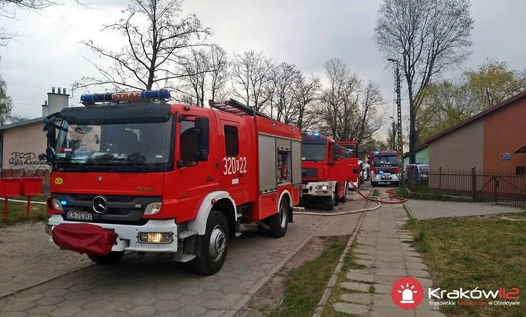 Tragiczny pożar przy ul. Piłsudskiego