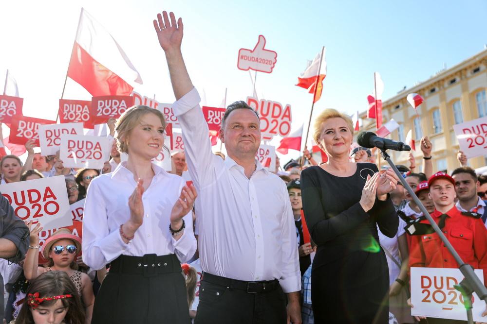 Zdecydowany triumf Dudy w gminie Skawina