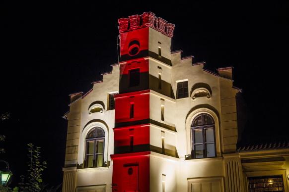 Skawina dołączyła do akcji #lightforbelarus