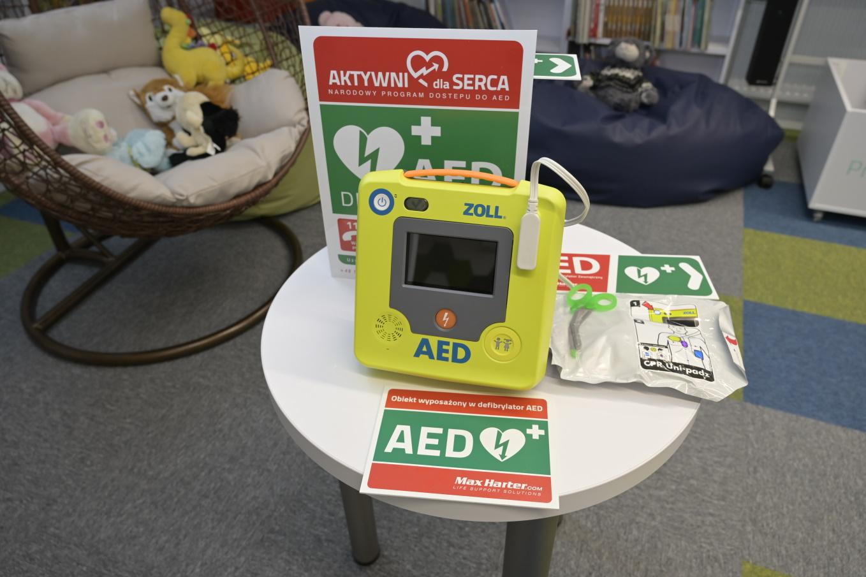 Dziesiąty defibrylator w gminie