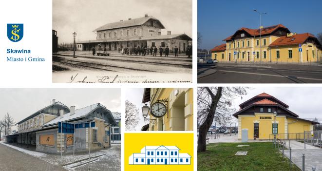 Skawiński dworzec w top10